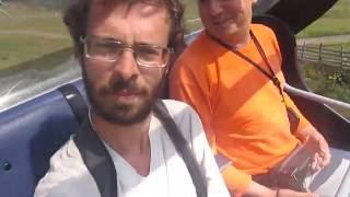 Бакуриани - канатная дорога(Вторая канатка с открытыми кабинками, из-за ветра звук плохой., 2016-08-17T20:01:50.000Z)