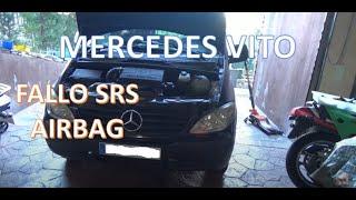 Intentando apagar el testigo SRS (AIRBAG) de la Mercedes-Benz VITO (W639). ¡¡AYUDA!!