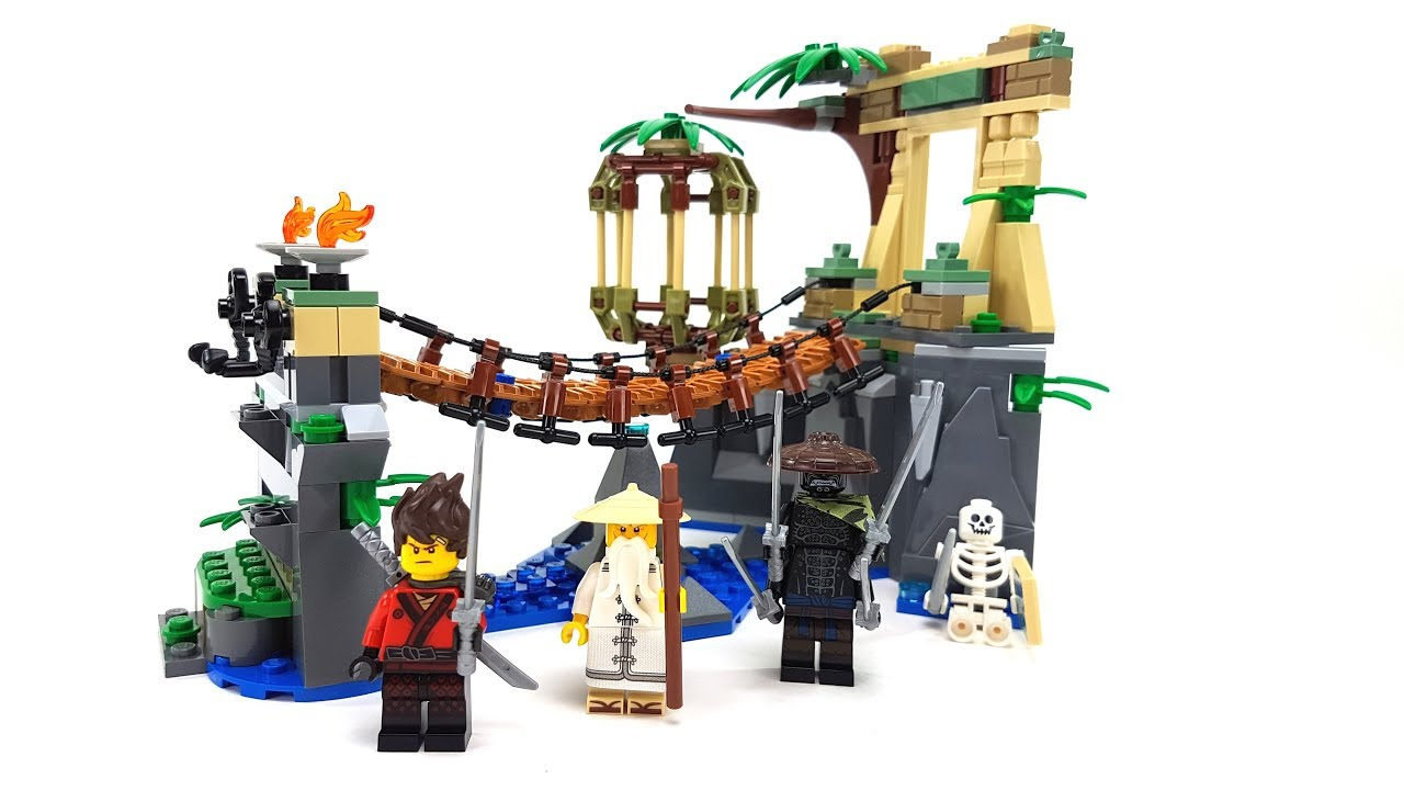 The Lego Ninjago Movie Set 70608 Meister Wus Wasser Fall