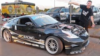 Battling For First In The Nismo 370z