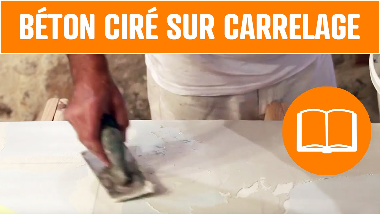Plan de travail beton cire awesome beautiful beton cire for Sol en beton cire avis