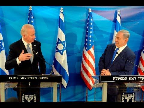 Friends Forever:  Joe Biden's visit in Israel with Israeli Prime Minister Benjamin Netanyahu, From YouTubeVideos