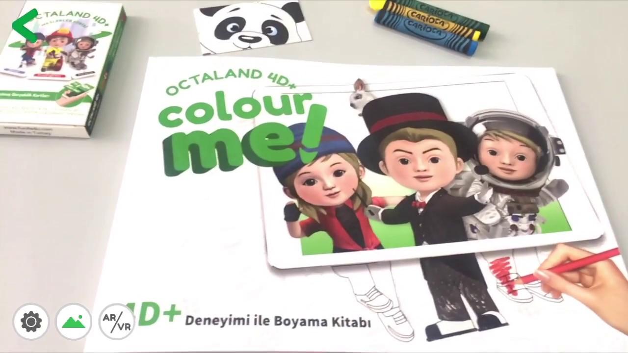 Mucit Panda Octaland Colorme 4d Arttirilmis Sanal Gerceklik