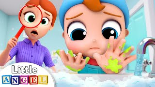 Download Wash, wash, wash your Hands | Healthy Habits Song | Kids Songs and Nursery Rhymes Little Angel Mp3 and Videos