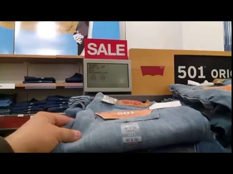 По чем джинсы в Америке)