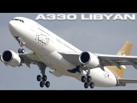 Airbus A330 Libyan Airlines
