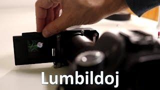 Kiel mi fotografas lumbildojn | Esperanto vlogo