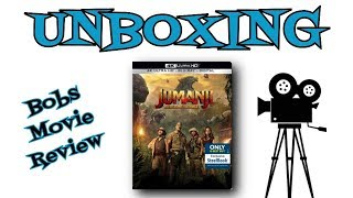 Jumanji: Welcome To The Jungle Steelbook Unboxing (Best Buy) streaming