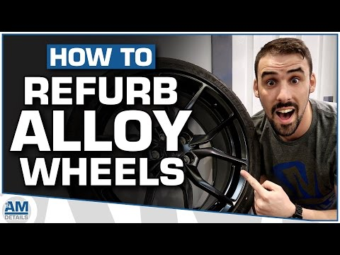 How To Refurb Alloy Wheels With Powder Coating
