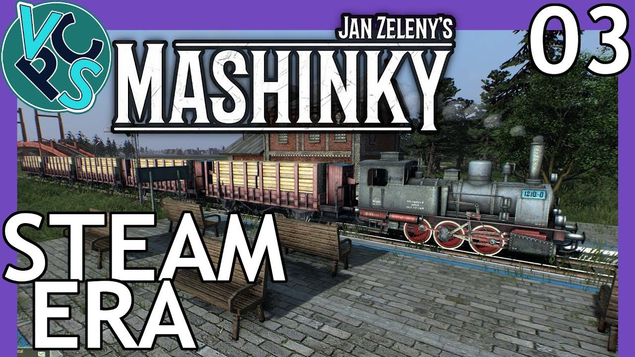 Steam Era - Mashinky Ep03 Upcoming Train Building Tycoon Game! A New  Transport Tycoon?