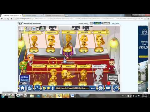 How to hack into other accounts in fantage! 2015