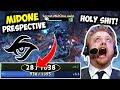 Holy Shit Epic Plays Of Secret Midone On Chongqing Major Final Vs Vp - MidOne Prespective