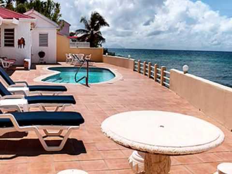 Casa Boco - St. Maarten Oceanfront Villa Rental - YouTube