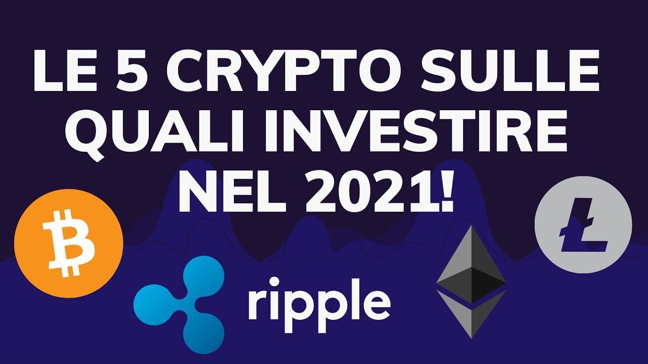 5 criptovaluta da investire nel 2021