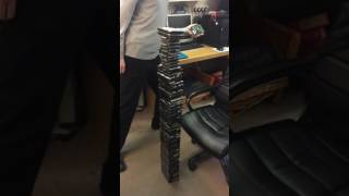 3.8ft Hard Drive Tower