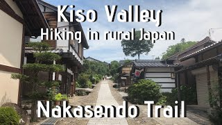 Nakasendo Trail Kiso Valley Hiking Magome to Tsumago Japan in Summer Solo Travel Guide