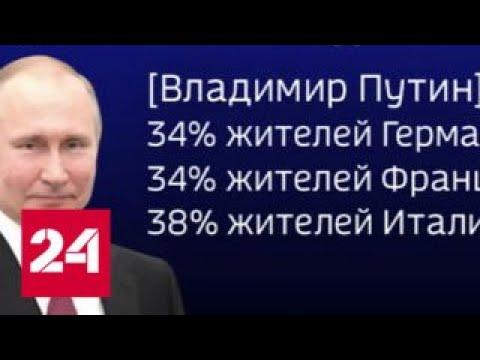 Европейцы назвали Путина