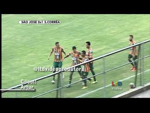 São José 1x1 Sampaio Corrêa - Copa do Brasil 09/02/2017