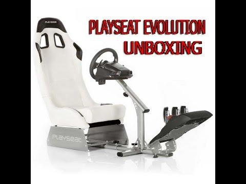 PLAYSEAT EVOLUTION (Unboxing y montaje)