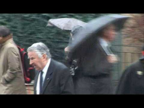 Funeral of Michael Shea, former Press Secretary to the Queen