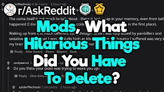 Reddit Mods, What Funny Things Did You Have To Take Down?