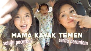 CURHAT IBU DAN ANAK (jangan nangis ya) Drive With Titan ft. Mama & Gwen