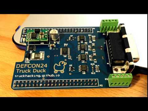 DEF CON 24 - Six Volts and Haystack - Cheap Tools for Hacking Heavy Trucks