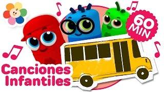 Especial de Las Ruedas del Bus | Canciones Infantiles Para Niños | Canciones para Bebes | BabyFirst