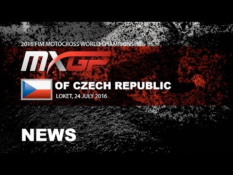 MXGP of Czech Republic Race Highlights 2016