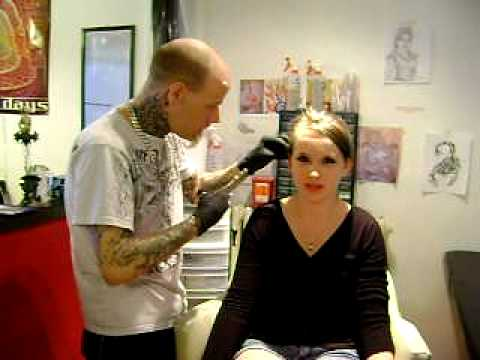 Getting My Industrial Pierced ! :)