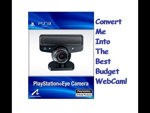 Use your Playstation Eye Camera as a WebCam.  Amazing WebCam alternative for under 10 BUCKS!!