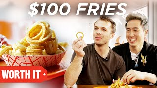 $3 Fries Vs. $100 Fries by : BuzzFeedVideo