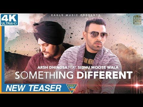 Something Different | Teaser | Arsh Dhindsa | Sidhu Moose Wala | Eagle Music | Punjabi Song 2018