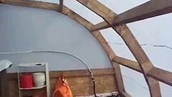 Loverna Veg prototype greenhouse