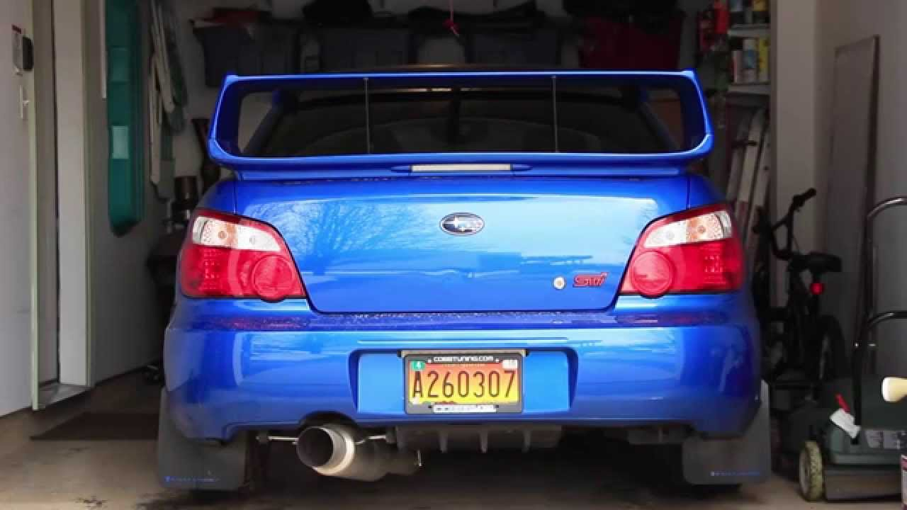 2015 Subaru Wrx Exhaust >> 2006 Subaru WRX STI Taillight Swap Test - YouTube