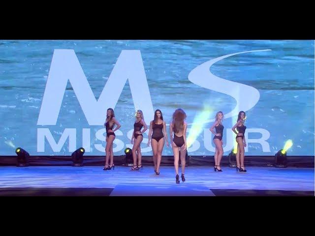Miss Sur 2018 - desfile ropa baño Dolores Cortés