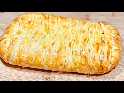 feuilletÉ-tressÉ-aux-lÉgumes🥕(et-saumon-fumé)👌-trop-facile-et-rapide.-deli-cuisine