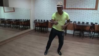 Видеоурок латиноамериканских танцев-соло. Dance Cafe.