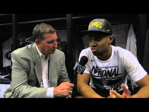 Villanova Men's Basketball: April 4, 2016  PostGame  with Phil Booth