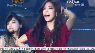 [12.01.19] T-ara - Roly Poly + Lovey Dovey @ 21st Seoul Music Awards (Real HD 720p)