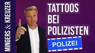Dürfen Polizisten Tattoos haben? | #FragMingers (2018)