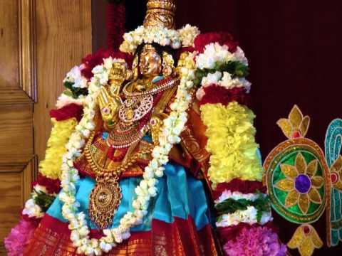 """Medieval Sanskrit Hymn (Prayer/Chant) on Sri Mahalakshmi - """"Sri Sthuthi"""" (Swami Vedanta Desika)"""