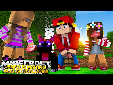 Minecraft Adventure - JENNY LIKES ROPO & ALLY IS SUPER JEALOUS!! from YouTube · Duration:  12 minutes 56 seconds