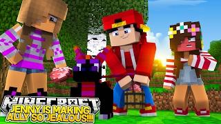 Minecraft Adventure - JENNY LIKES ROPO & ALLY IS SUPER JEALOUS!!
