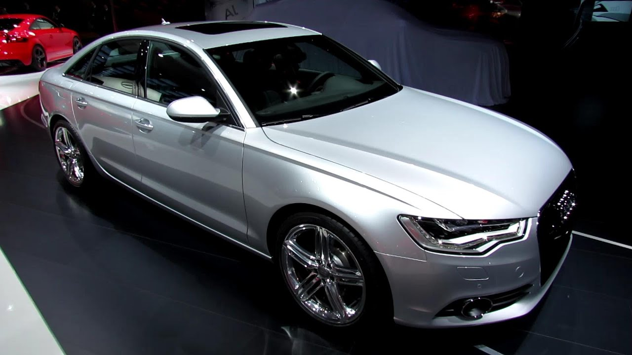 2013 Audi A6 TDI Quattro - Exterior and Interior Walkaround - 2013 Detroit  Auto Show - YouTube