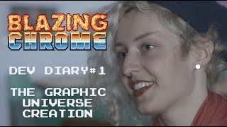 Blazing Chrome - Dev Diary #1: The graphics