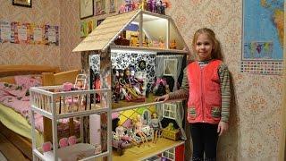 Кукольный домик своими руками.