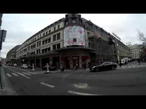 The world oldest department store: Le Bon Marché in Paris