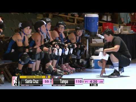 WFTDA Roller Derby: 2014 Division 1 Playoffs, Sacramento: Tampa vs. Santa Cruz