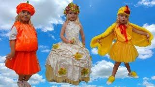 Rochii pentru Toamna de Aur   Balul Toamnei   Video pentru copii